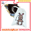 customize wholesale 2016 hot sell personalized cotton canvas gift bags drawstring easter bag