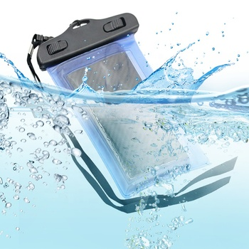 Promotional diving swimming touch screen universal cell phone protective mobile phone waterproof bag