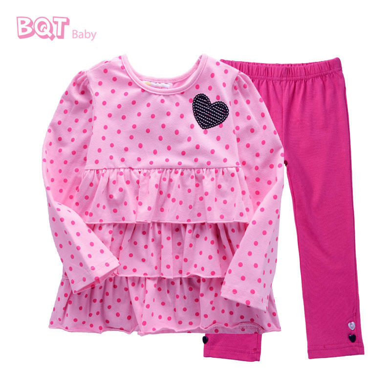 f25743302 Get Quotations · NWT Autumn Style Baby Clothing Set Hear Design Top & Hot  Pink Pants Cute Element Causla