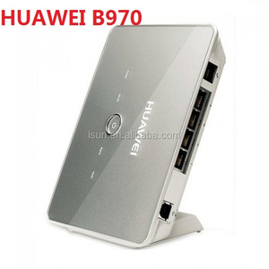 Brand new unlocked Huawei B970 B970B 3G wireless gateway CPE wifi Router with Lan port and sim card slot