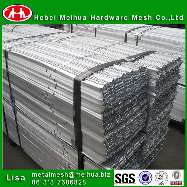 Formwork Mesh High Ribbed Lath/Corner angle for construction