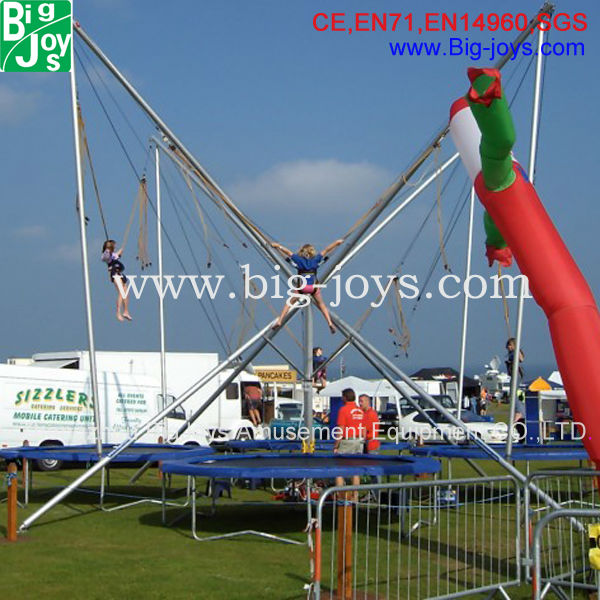 New Design Factory Price Bungee Jumping Trampoline for Children bungee jumping sets