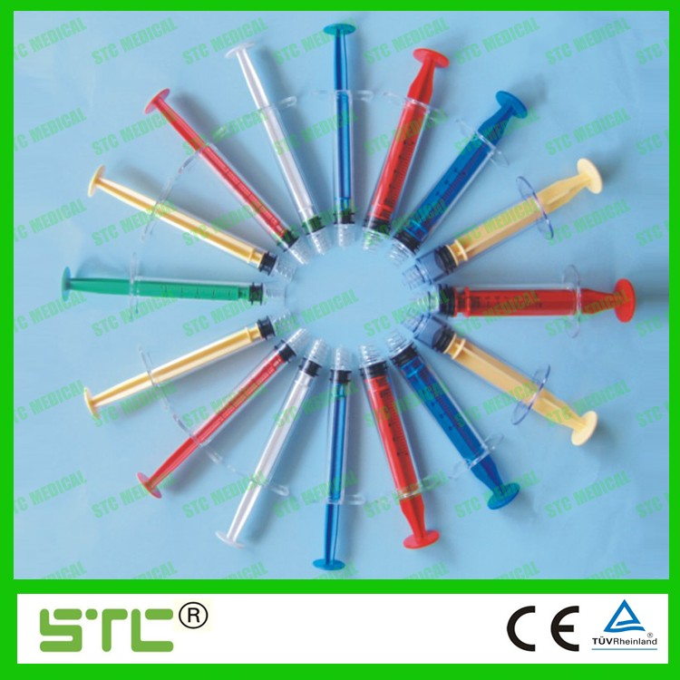FIXED MALE COLORED SYRINGES