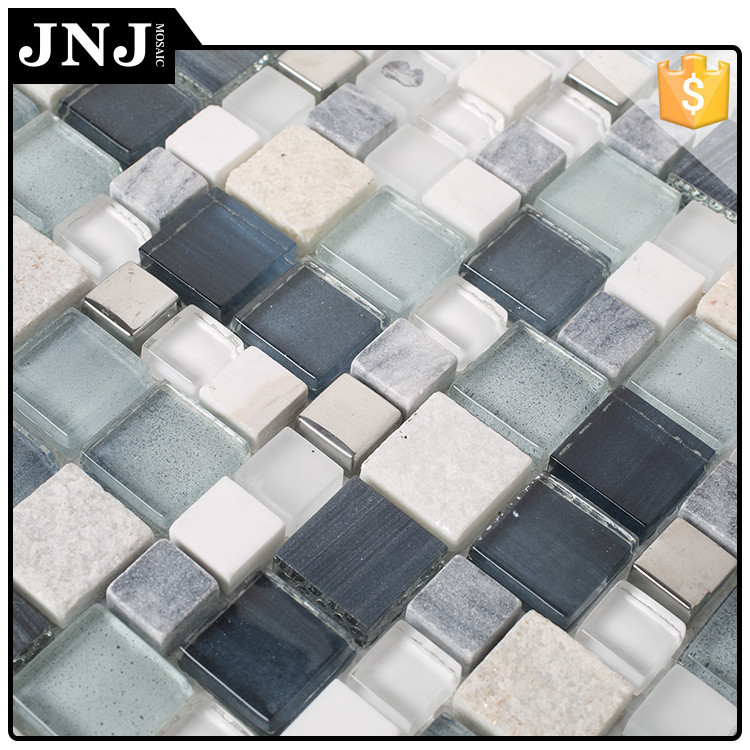 JNJ Easy Install Mosaic Decorative Stone Border Designs