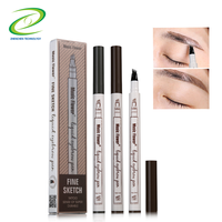 Professional Eyebrow Pencil Tattoo Sense Eyebrow Pen Music Flower Brand
