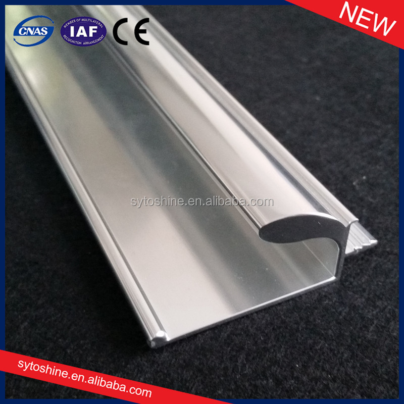 Good! New things made of aluminum profile /aluminum mirror polished aluminum extrusion profiles
