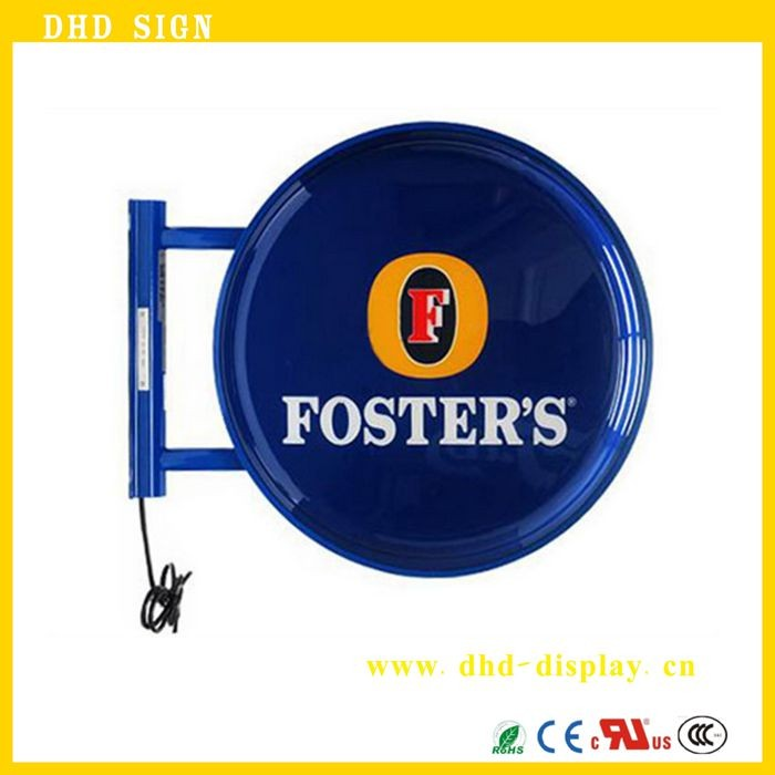 Storefront Light Box Sign/ Outdoor Double Sided Led Lighted Box ...