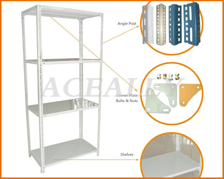 Diy Layers Sheet Metal Storage Rack,Slotted Angle Iron Rack