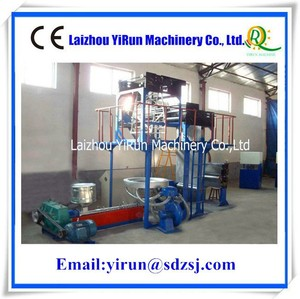 Up Blown Straw Banding Split Film Extrusion Machine