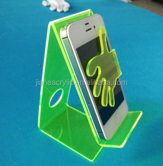 Tabletop Acrylic Plastic Mobile Phone Display Stand Cell Phone ...