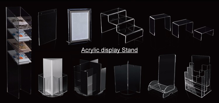 Portable Clear Acrylic Knife Display Stand Acrylic Sword Holder stand
