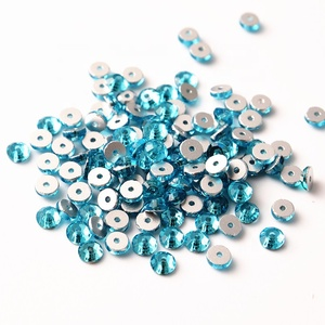 5mm Bulk Bling Rhinestones Beads For Dress Embroidery, Decorative Stone Lochrose Hole Garment Beads