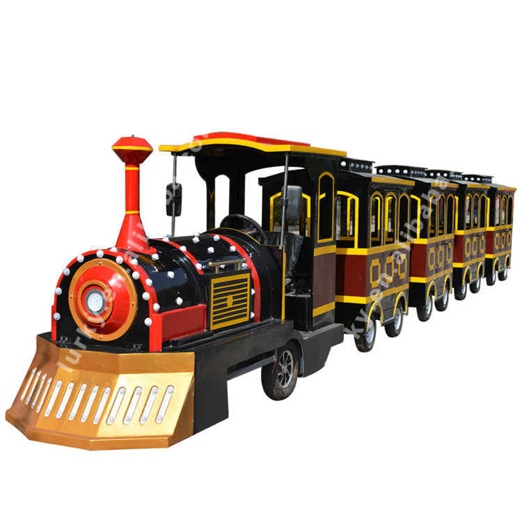 amusement park electric trackless train ride for commercial mall