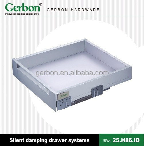hot selling kitchen cabinet Soft Close tandem box darwer slide