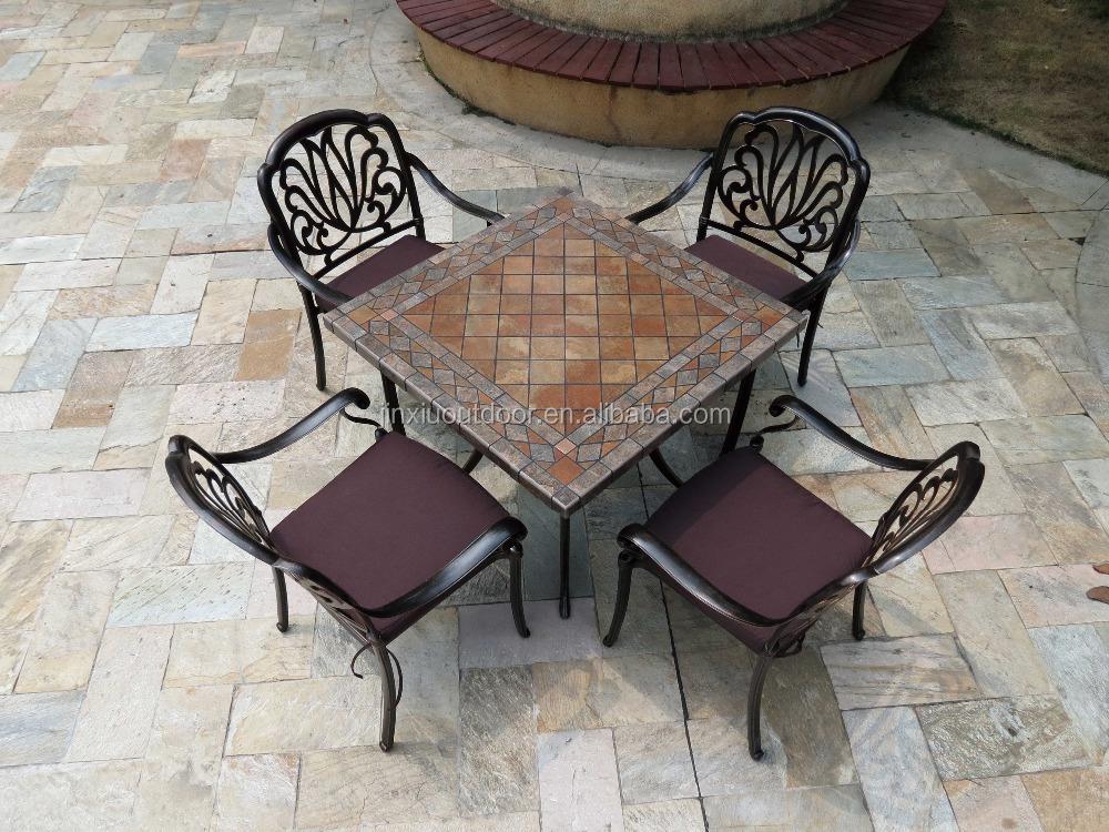 Pintura outdoor fundici n de aluminio muebles del patio for Aluminio productos de fundicion muebles de jardin