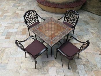 Painting Outdoor Cast Aluminum Patio Furniture A5276 Buy Cast