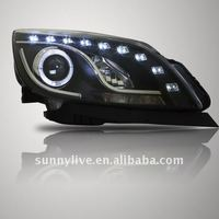 For GM Buick For Excelle GT LED Head Lamp Angel Eyes V1 Type