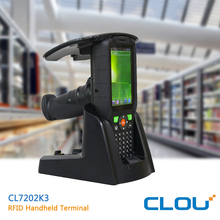 CLOU high performance ruggedized handheld computer with UHF RFID, barcode scanner CL7206K3A