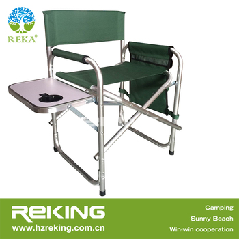 Awe Inspiring Aluminum Folding Director Chair With Side Table Buy Cheap Folding Chairs Folding Easy Chair Camping Chair Product On Alibaba Com Machost Co Dining Chair Design Ideas Machostcouk