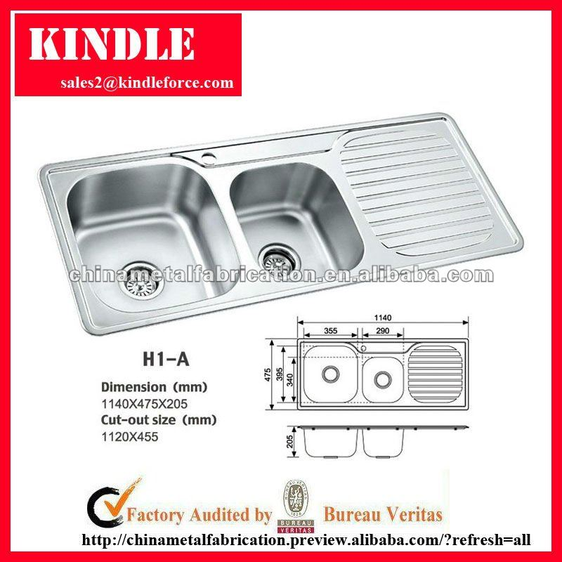 304 stainless steel water sink