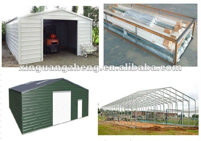 Light Steel Frame Garage - Buy Light Steel Frame Garage,Garage,Steel ...