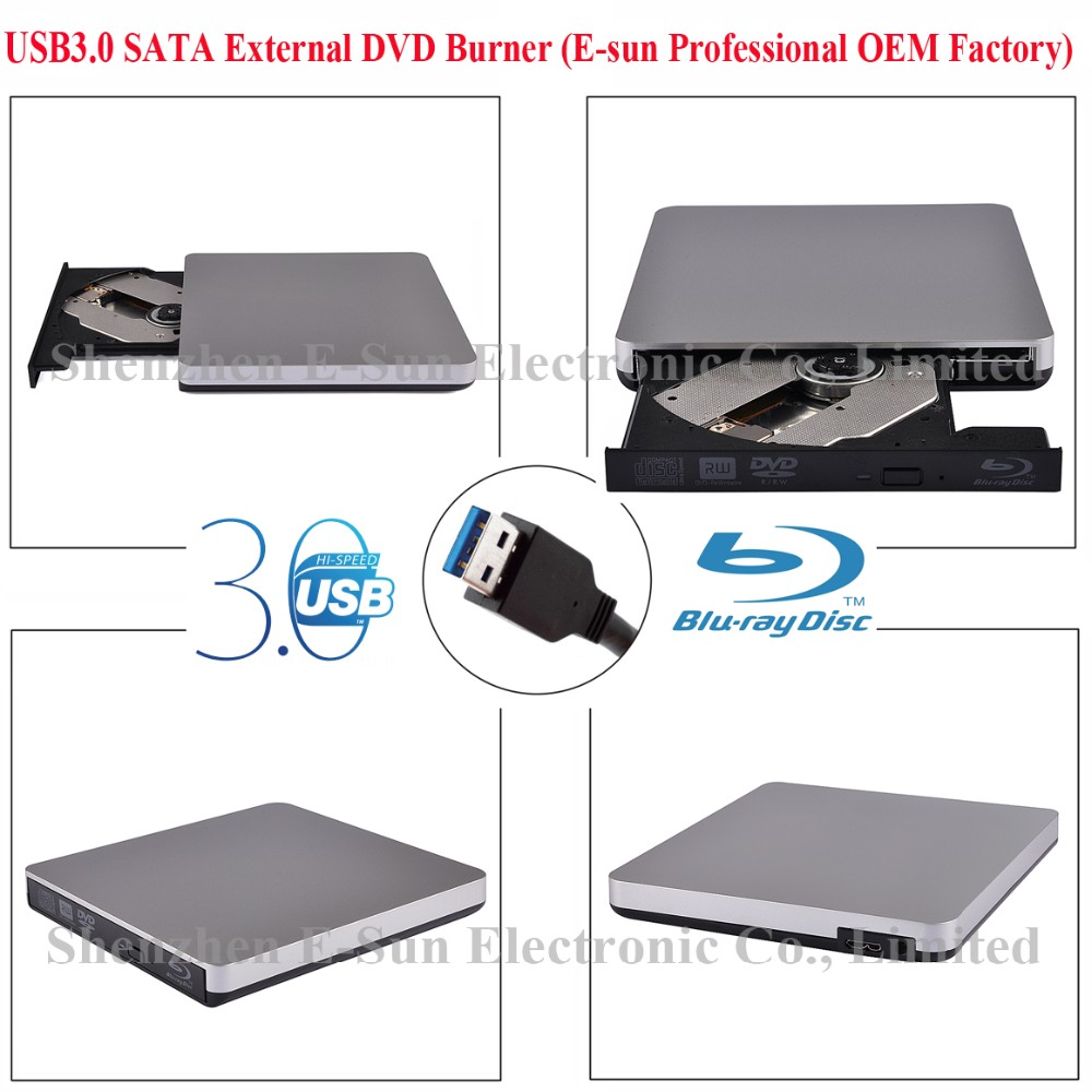 Blu ray External CD DVD Optical Drive for laptop