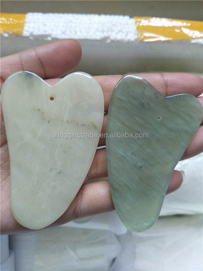 Body Facial Massager Scraper Chinese Treatments Natural Jade Scraping Care Human Healthy Tool