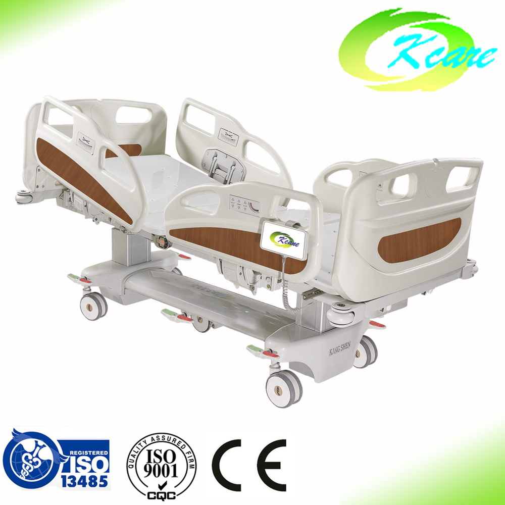 ICU multifunctional electric hospital bed with cpr function