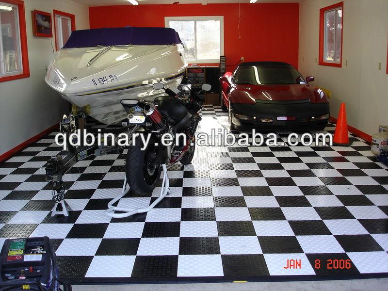 pvc vinyl vloerbedekking pp pvc garage vloeren tegels. Black Bedroom Furniture Sets. Home Design Ideas