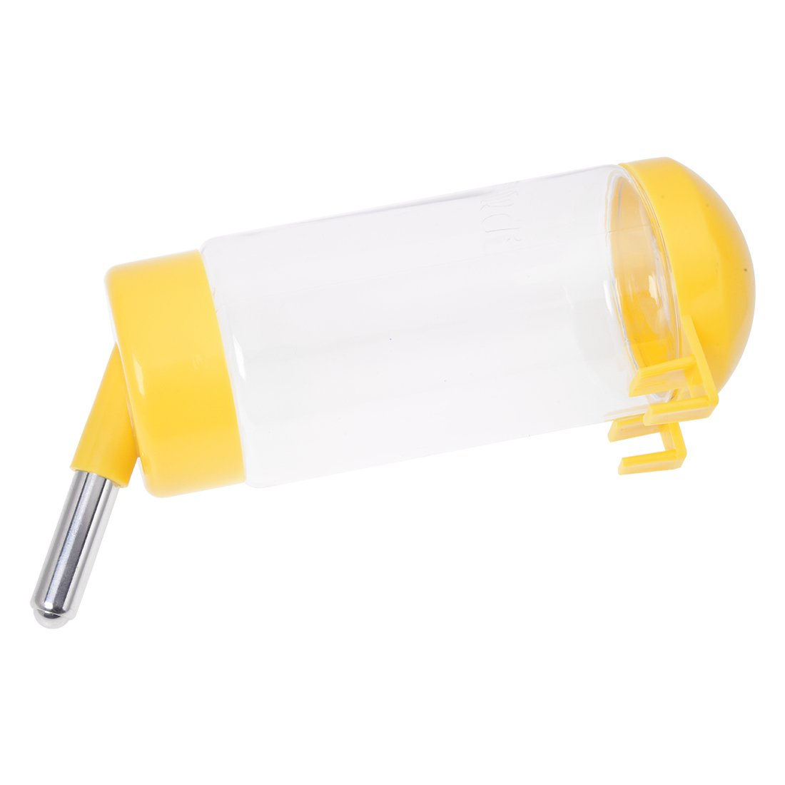 f973ff4f17f Get Quotations · SODIAL(R) Pet Dog Puppy Gerbil Hamster Cage Water Feeder  Bottle Yellow
