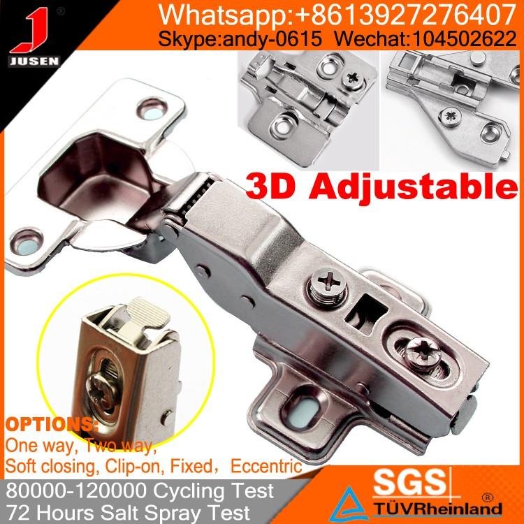 3d einstellbare verborgen möbel schrank clip auf scharnier ...
