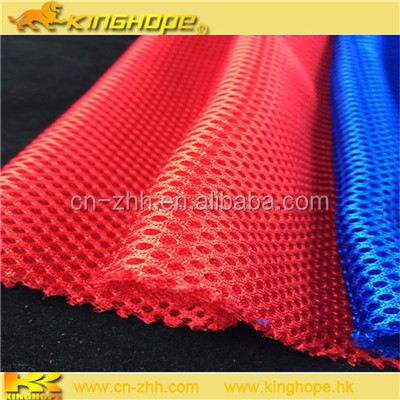 Waterproof stretch bonded with mesh fabric used for outdoor sports fabric