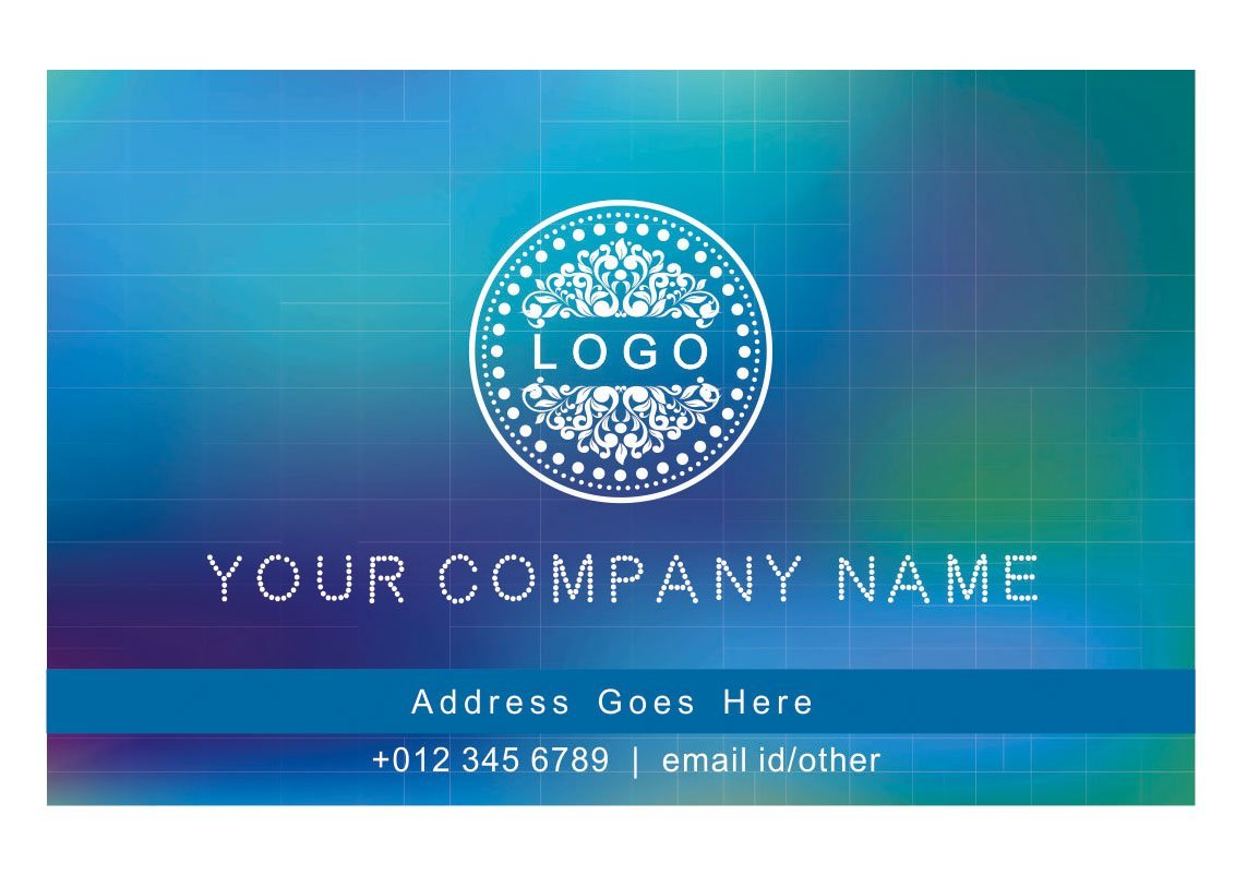 Design Your Own Personalised Business Cards Custom Professional Classic Design Visiting Card- Front
