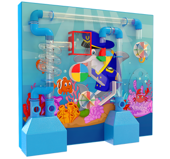 interactive wall game for indoor playground for children's game center