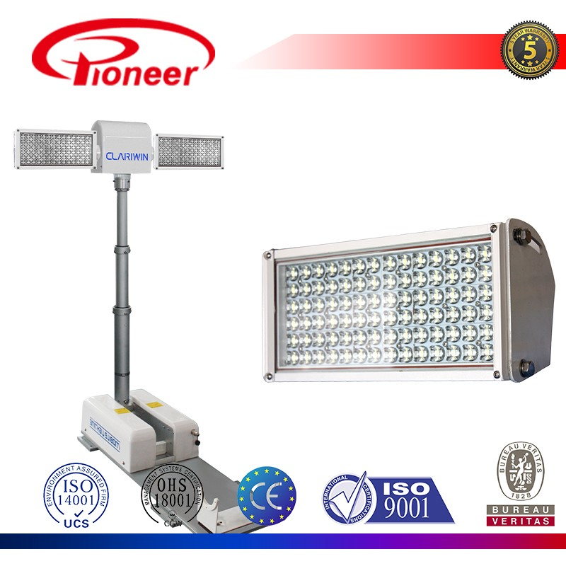 Truck And Police Car Top Mounted Night Scan Tower Light And