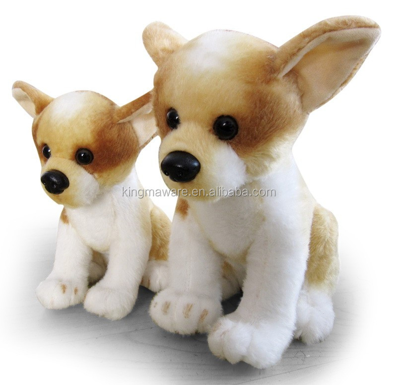 Realistic Plush Chihuahua Dog Toy Stuffed Chihuahua Plush Toy Plush