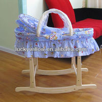 dolls moses basket /willow baby basket 2013the latest product(factory provide)