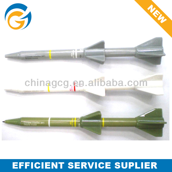 2013 Promotion Rocket Shaped Cap Ball Pen