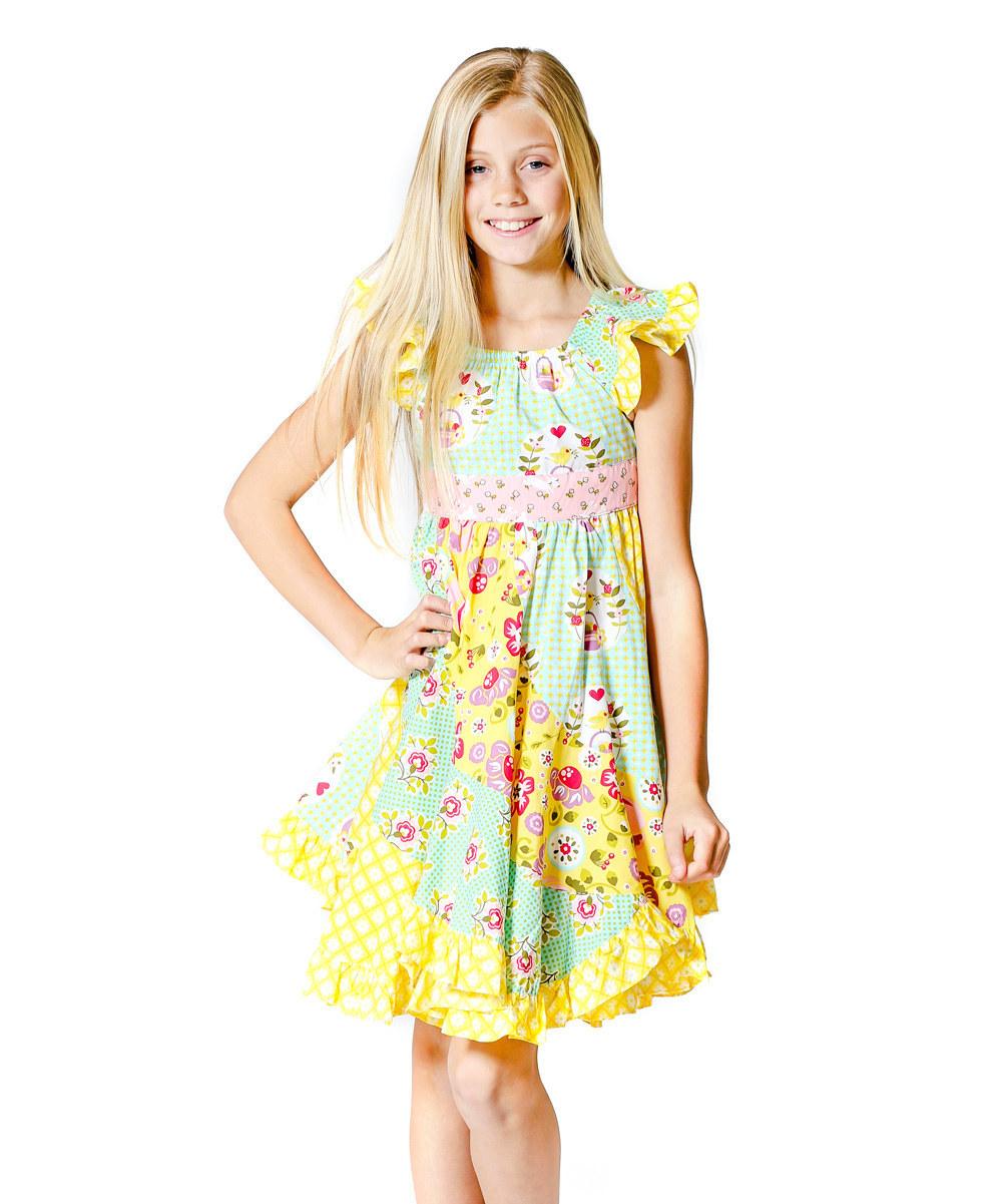 Cotton Long Summer Dresses Pretty Little Girl Dresses ...