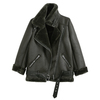 2017 Autumn New Style Thickening And Pile Up BF Wind Jacket For Women