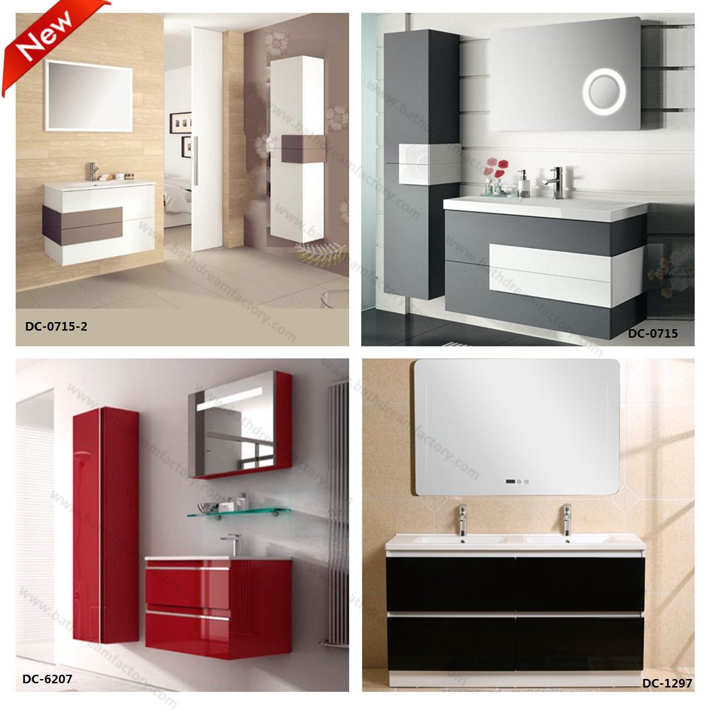 Mdf Kitchen Cabinets Price: Mirror Basin Combined Vanity And Mdf Chinese Bathroom