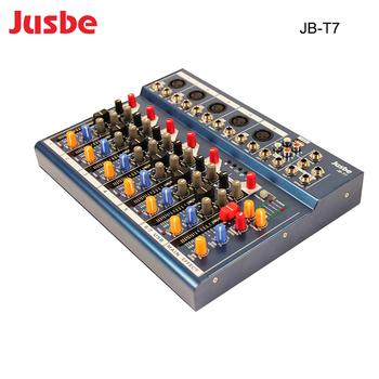 factory price 7 channel mini sound mixer digital professional audio mixer console panton usb. Black Bedroom Furniture Sets. Home Design Ideas