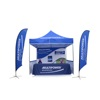 SHOP 10x10 aluminum folding pop up gazebo trade show 3X3M marquee canopy tent
