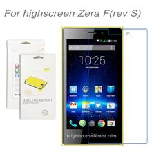 For Highscreen Zera F(rev S),3pcs/lot High Clear LCD Screen Protector Film Screen Protective Film Screen Guard For Zera F(rev S)