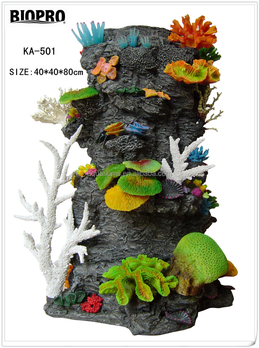 Biopro Brand Salt Water Aquarium Ornaments Craft Artificial Coral ...