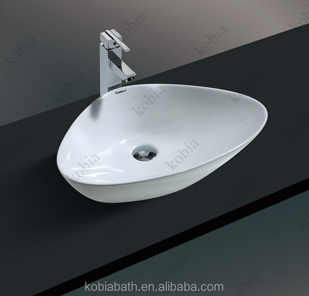 K-S1011 Small toilet washing basin cheap single bathroom vanity sink furniture