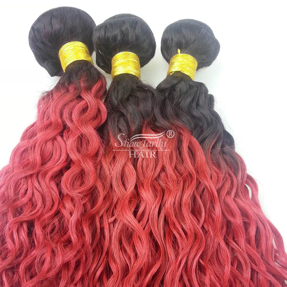 Best Selling Sew In Human Hair Weave Ombre Hair Weavestwo Tone
