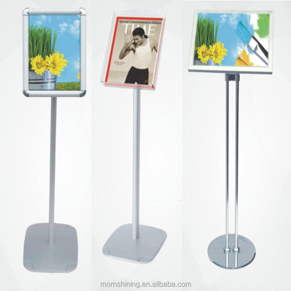 types of menu stand