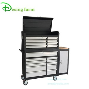 stainless steel work bench with drawers and back panel