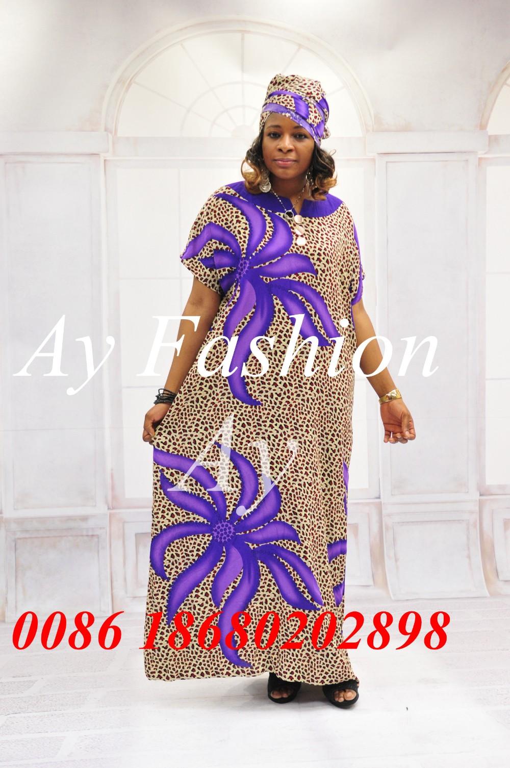 largo Kaftans vestido africanas imprimir Ghana gran tamaño estilos Mujeres batik qAgRwf0H